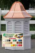 Manchester Octagon Louvered Color Cupola