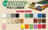 Hudson Octagon Louvered Colored Cupola - Evolve Lumber Color Chart
