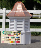 Gilford Octagon Color Louvered Cupola