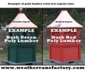 Evolve Lumber Cupola Samples Photo