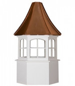 Rockford Hexagon Window Cupola