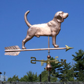 Handmade large Beagle Weathervane