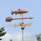 Another great photo of our Trout Weathervane