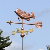 Jumping Largemouth Bass Weathervane on a Arrow