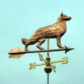 German Shepherd Weathervane