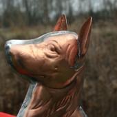 German Shepherd Weathervane Face