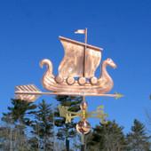 Viking Ship/Sailboat Weathervane
