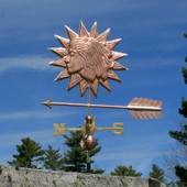 Lady in the Sun Weathervane