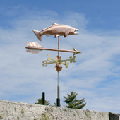 Salmon Weathervane