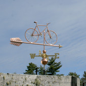 Mountain Bicycle Weathervane