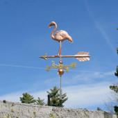 Standing Flamingo Weathervane