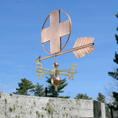 Large Cross Weathervane