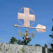 Large Cross Weathervane