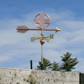 Small Cross Weathervane