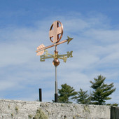 Small Cross Weathervane