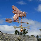 Large Bee Weathervane
