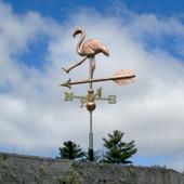 Walking Flamingo Weathervane