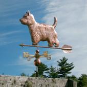 West Highland Terrier Weathervane
