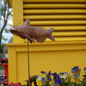 Catfish Garden Stake