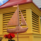 Sailboat Garden Stake