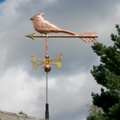 Cardinal Weathervane