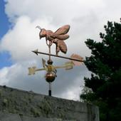 Honey Bee Weathervane