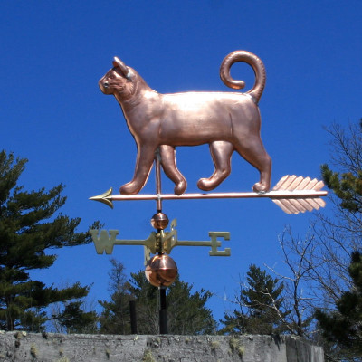 Curly Tail Cat Weathervane 627