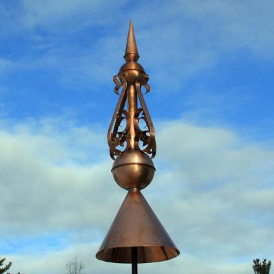 Copper Finial F136