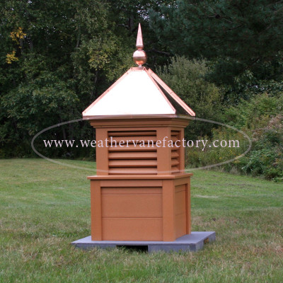 Foxcroft Color Louvered Cupola