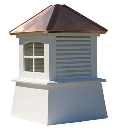 Clifton Window and Louvered Cupola