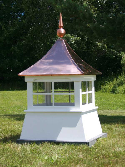 Searsport Shed Cupola with Copper Finial