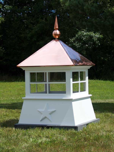 Tiffin Window Shed Cupola with Finial