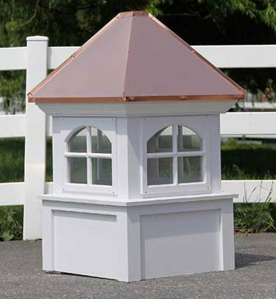 Mapleton Arched Window Cupola