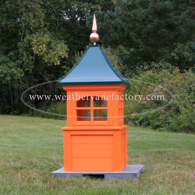 orange cupola