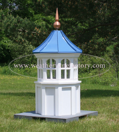 Vienna Arched Octagon Window Cupola with Concave Roof