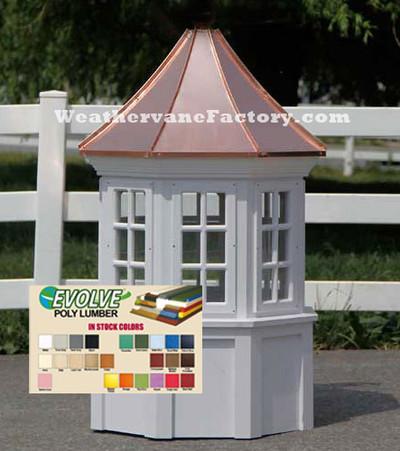 Surry Octagon Window Color Cupola