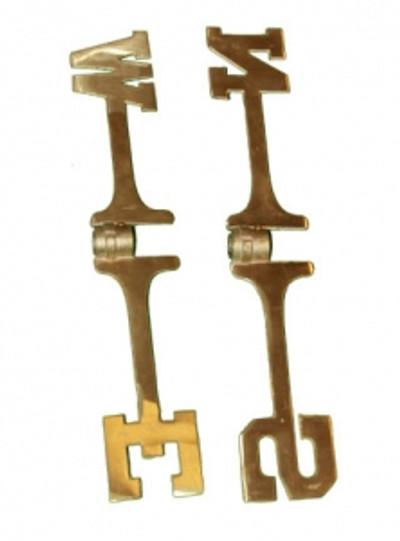 brass directionals