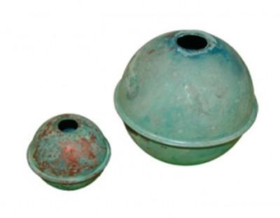 patina copper balls