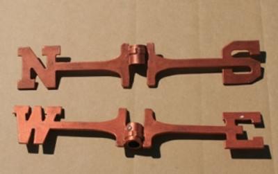 painted aluminum directionals