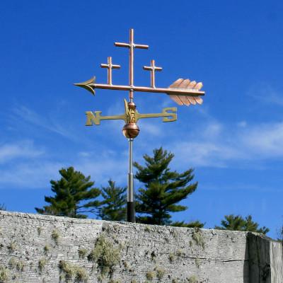 Three Crosses Weathervane