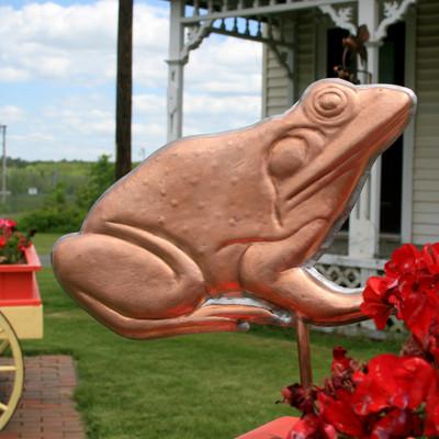 Frog Garden Stake