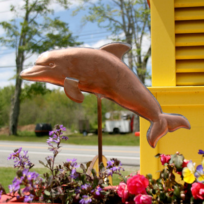 Dolphin Garden Stake