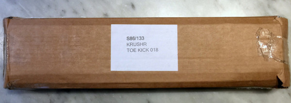 K018 Adjustable Stainless Steel Toe Kick