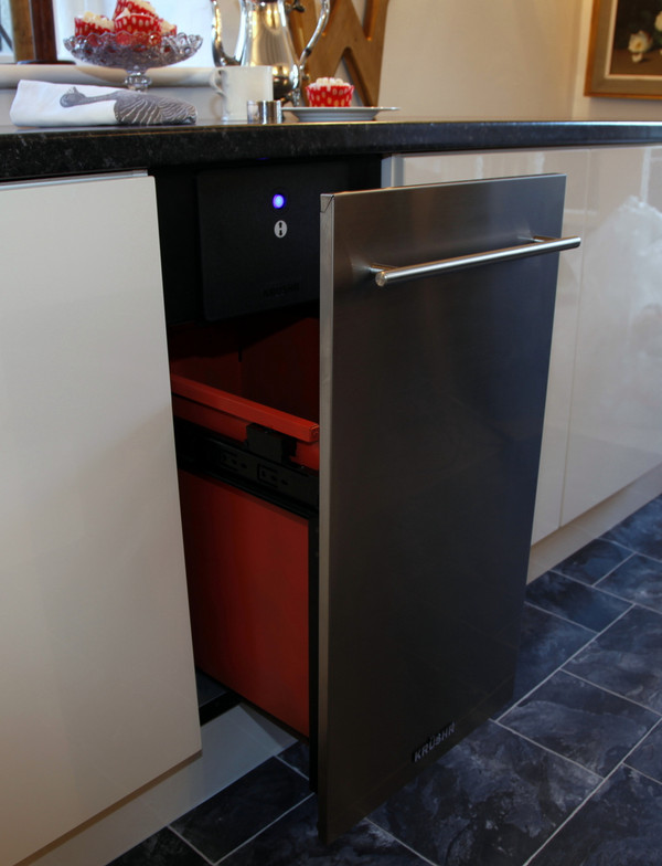 K015 shown with a matching K015 Stainless Steel door