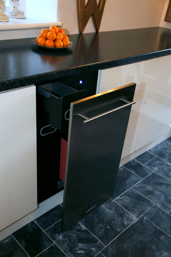 K018 shown with the matching Krushr K018 stainless steel door