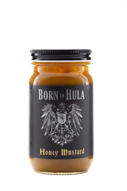 "Born to Hula / Biergarten Honey Mustard  ""Front Label"""