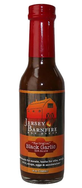 Jersey Barnfire Black Garlic Hot Sauce