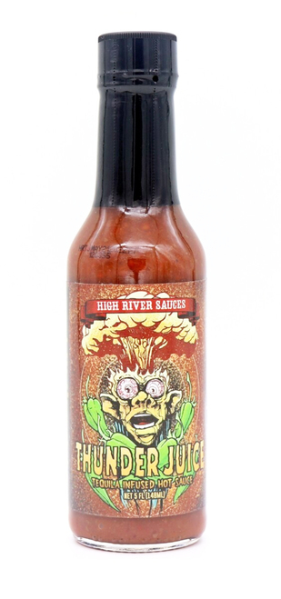 High River Sauces / Thunder Juice Tequila-Infused Hot Sauce