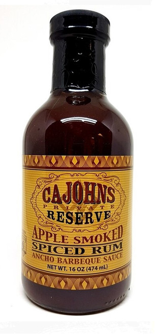 CaJohn's Apple Smoked Spiced Rum Ancho Barbeque Sauce