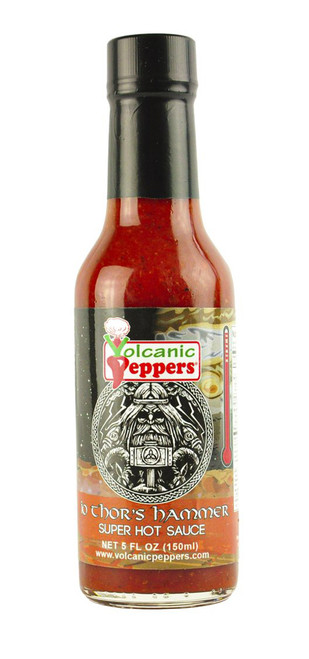 Volcanic Peppers / Thor's Hammer Hot Sauce